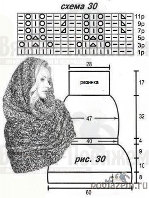 вязание капра схемы