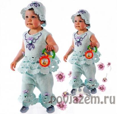 Вяжем детям костюм